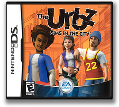 The Urbz - Sims in the City DS cover (ASIE)