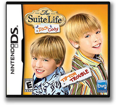 The Suite Life of Zack & Cody - Tipton Trouble DS cover (ASLE)