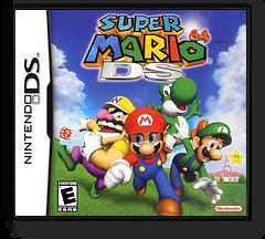 Super Mario 64 DS DS cover (ASME)
