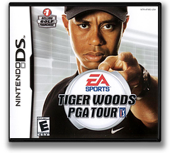 Tiger Woods PGA Tour DS cover (ATWE)