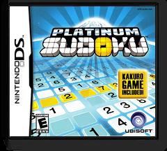 Platinum Sudoku DS cover (AU6E)