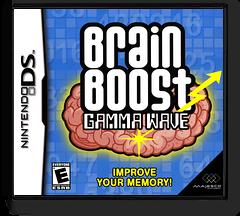 Brain Boost - Gamma Wave DS cover (AUTE)