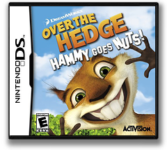 Over the Hedge - Hammy Goes Nuts! DS cover (AVHE)