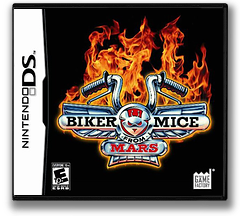 Biker Mice from Mars DS cover (AVQE)