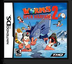 Worms - Open Warfare 2 DS cover (AW2E)