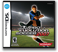Winning Eleven - Pro Evolution Soccer 2007 DS cover (AWEE)