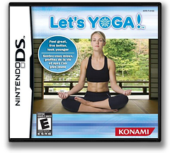 Let's Yoga! DS cover (AY5E)
