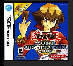 Yu-Gi-Oh! - World Championship 2007 DS cover (AY7E)