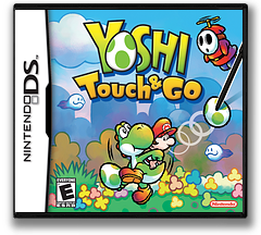 Yoshi Touch & Go DS cover (AYIE)