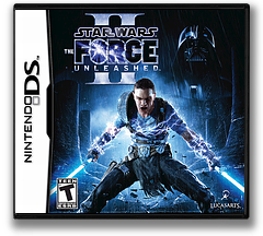 Star Wars - The Force Unleashed II DS cover (B2SE)