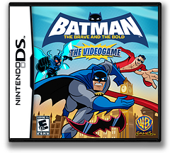 Batman - The Brave and the Bold - The Videogame DS cover (B3BE)