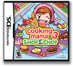Cooking Mama 3 - Shop & Chop DS cover (B3CE)