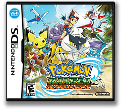 Pokémon Ranger - Guardian Signs DS cover (B3RE)