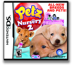 Petz - Nursery 2 DS cover (B3UE)