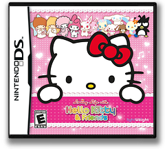 Loving Life with Hello Kitty & Friends DS cover (B3YE)