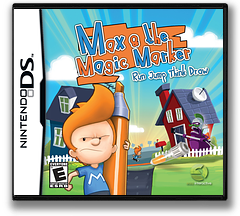 Max & the Magic Marker DS cover (B4HE)