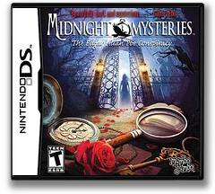 Midnight Mysteries - The Edgar Allan Poe Conspiracy DS cover (B4ME)