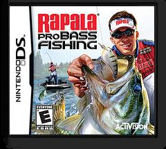 Rapala Pro Bass Fishing DS cover (B4RE)