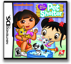 Dora & Kai-Lan's Pet Shelter DS cover (B58E)