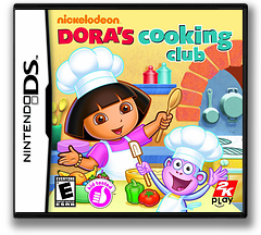 Dora's Cooking Club DS cover (B5CE)