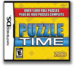 Puzzle Time DS cover (B5TE)
