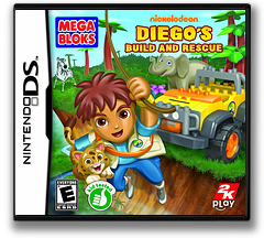 Diego's Build and Rescue DS cover (B6GE)