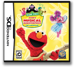 Sesame Street - Elmo's Musical Monsterpiece DS cover (B6LE)