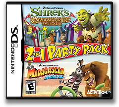 DreamWorks 2-in-1 Party Pack DS cover (B6WE)
