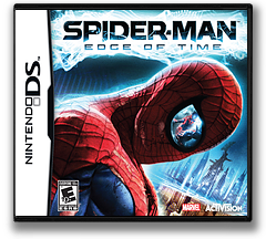 Spider-Man - Edge of Time DS cover (B8IE)
