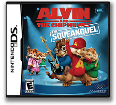 Alvin and the Chipmunks - The Squeakquel DS cover (BAVE)