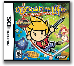 Drawn to Life - The Next Chapter DS cover (BDRE)