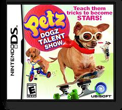 Petz - Dogz Talent Show DS cover (BDZE)