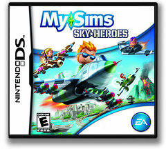 MySims - SkyHeroes DS cover (BFLE)