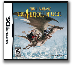 Final Fantasy - The 4 Heroes of Light DS cover (BFXE)
