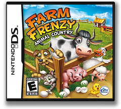 Farm Frenzy - Animal Country DS cover (BFZE)
