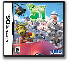 Planet 51 - The Game DS cover (BGEE)