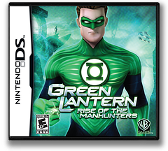 Green Lantern - Rise of the Manhunters DS cover (BGIE)