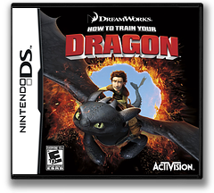 How to Train Your Dragon DS cover (BHDE)