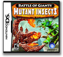 Battle of Giants - Mutant Insects DS cover (BIGE)