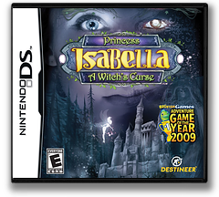 Princess Isabella - A Witch's Curse DS cover (BIWE)