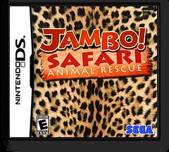 Jambo! Safari - Animal Rescue DS cover (BJSE)