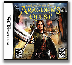 The Lord of the Rings - Aragorn's Quest DS cover (BLPE)