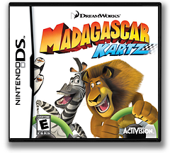 Madagascar Kartz DS cover (BMDE)