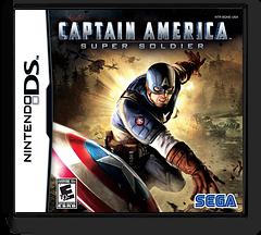 Captain America - Super Soldier DS cover (BQNE)