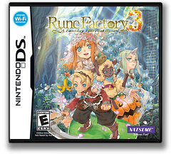 Rune Factory 3 - A Fantasy Harvest Moon DS cover (BRFE)