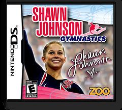 Shawn Johnson Gymnastics DS cover (BRVE)