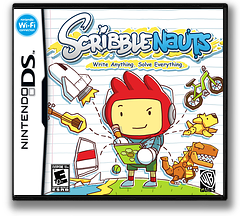 Scribblenauts DS cover (BSLE)