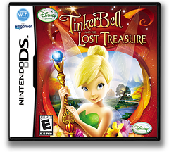 Tinker Bell and the Lost Treasure DS cover (BTBE)