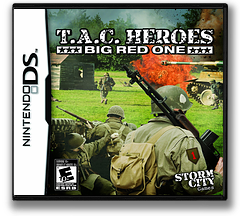 T.A.C. Heroes - Big Red One DS cover (BTJE)