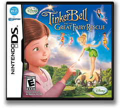 Tinker Bell and the Great Fairy Rescue DS cover (BTUE)
